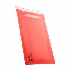 Koperty bąbelkowe 17 G czerwone