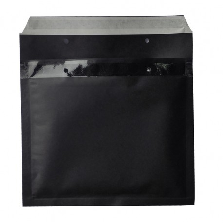 Koperty bąbelkowe 17 G czarne